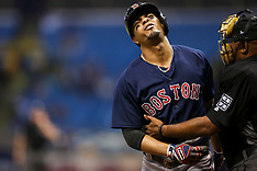 Boston Red Sox v Tampa Bay Rays - 15 September 2017