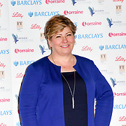 Emily Thornberry attends Women of the Year Lunch and Awards at Intercontinental Hotel Park Lane, London, UK. 15 October 2018.