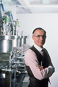 Arno Penzias, head of research for Bell Labs in Murray Hill, New Jersey. 1988.