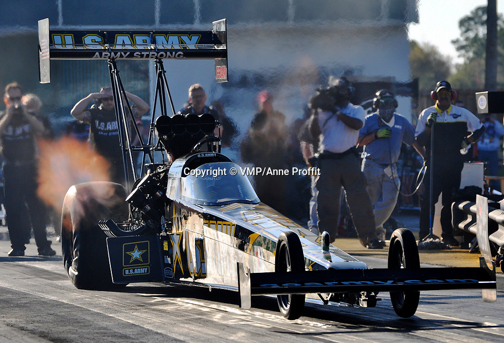 """Tony """"The Sarge"""" Schumacher at Full Throttle Drag racing series, National Hot Rod Association 2011"""