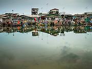 15 JUNE 2105 - NARATHIWAT, NARATHIWAT, THAILAND:   Fishing boats in port in Narathiwat.     PHOTO BY JACK KURTZ