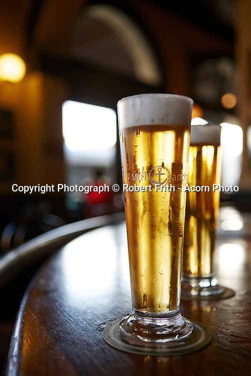 Beer at the bar of the Sail and Anchor Hotel in Freo Perth Region