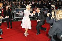 Helen Mirren, Bryan Cranston, 59th BFI London Film Festival: Trumbo - Accenture gala, Leicester Square, London UK, 08 October 2015, Photo by Richard Goldschmidt