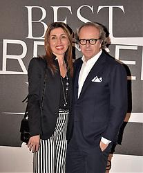 Andrea Della Valle,Paola at the photocall of GQ Best Dressed Men 2019  Milan,Italy, 11 January 2019  (Credit Image: © Nick Zonna/Soevermedia via ZUMA Press)