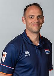 10-05-2018 NED: Team shoot Dutch volleyball team women, Arnhem<br /> Assistent Coach Eelco Beijl