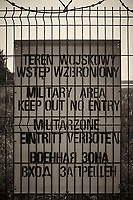 Keep Out Sign, Military Base. Walkabout in Westerplatte Memorial Park. Image taken with a Leica X2 camera and 24 mm lens.