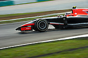 March 29, 2014 - Sepang, Malaysia. Malaysian Formula One Grand Prix. Max Chilton, Marussia f1 team<br /> © Jamey Price / James Moy Photography