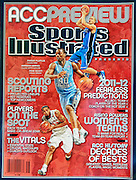 A photograph of my first Sports Illustrated cover (Barnes and Scott). Photo/Andrew Shurtleff