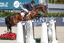 De Ponnat Aymeric (FRA) - Armitage Boy<br /> Furusiyya FEI Nations Cup Jumping Final Round 1<br /> CSIO Barcelona 2013<br /> © Dirk Caremans