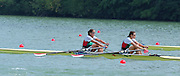 St Catherines, CANADA,  Women's Double Sculls. BUL W2X. Krisztina KULIFAI , Viktoria SZEKELY,  competing at the 1999 World Rowing Championships - Martindale Pond, Ontario. 08.1999..[Mandatory Credit; Peter Spurrier/Intersport-images]  .... 1999 FISA. World Rowing Championships, St Catherines, CANADA
