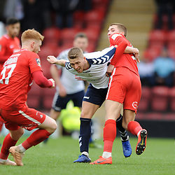 TELFORD COPYRIGHT MIKE SHERIDAN 16/3/2019 - Darryl Knights of AFC Telford during the FA Trophy semi final first leg fixture between Leyton Orient and AFC Telford United at Brisbane Road.