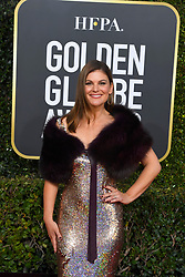 January 6, 2019 - Los Angeles, California, U.S. - Kirstin dos Santos during red carpet arrivals for the 76th Annual Golden Globe Awards at The Beverly Hilton Hotel. (Credit Image: © Kevin Sullivan via ZUMA Wire)
