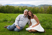 Lisa and Ken's vows renewal in Plymouth, Vt., on May 28, 2017. (Photo by Geoff Hansen)