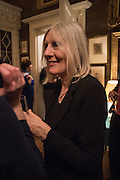 HELEN DUNMORE, The Walter Scott Prize for Historical Fiction 2015 - The Duke of Buccleuch hosts party to for the shortlist announcement. <br /> The winner is announced at the Borders Book Festival in Scotland in June.John Murray's Historic Rooms, 50 Albemarle Street, London, 24 March 2015.
