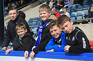 Young Rochdale supporters during the EFL Sky Bet League 1 match between Rochdale and Gillingham at Spotland, Rochdale, England on 15 September 2018.
