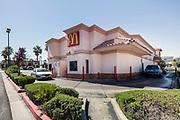 McDonald drive thru restaurant, Las Vegas, Nevada, USA