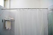 simple Hotel bathroom for economy travel