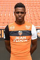 Faiz Selemani during photoshooting of FC Lorient for new season 2017/2018 on September 12, 2017 in Lorient, France. (Photo by Philippe Le Brech/Icon Sport)