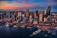 Summer Evening, Seattle Waterfront