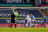 Leeds United goalkeeper Francisco Casilla (13) in action during the Premier League match between Leeds United and Brighton and Hove Albion at Elland Road, Leeds, England on 16 January 2021.