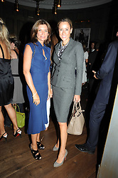 Left to right, NATALIE MASSENET founder of Net a Porter and REBECCA KORNER at the Harper's Bazaar Women of the Year Awards 2008 at The Landau, The Langham Hotel, Portland Place, London on 1st September 2008.<br /> <br /> NON EXCLUSIVE - WORLD RIGHTS