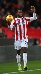 Stoke City's Cuco Martina during the Sky Bet Championship match at the
