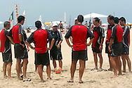 Football - FIFA Beach Soccer World Cup 2006 - Referees physical training - Rio de Janeiro - Brazil 1/11/2006<br />Event Title Boad Mandatory Credit: FIFA / Ricardo Moraes
