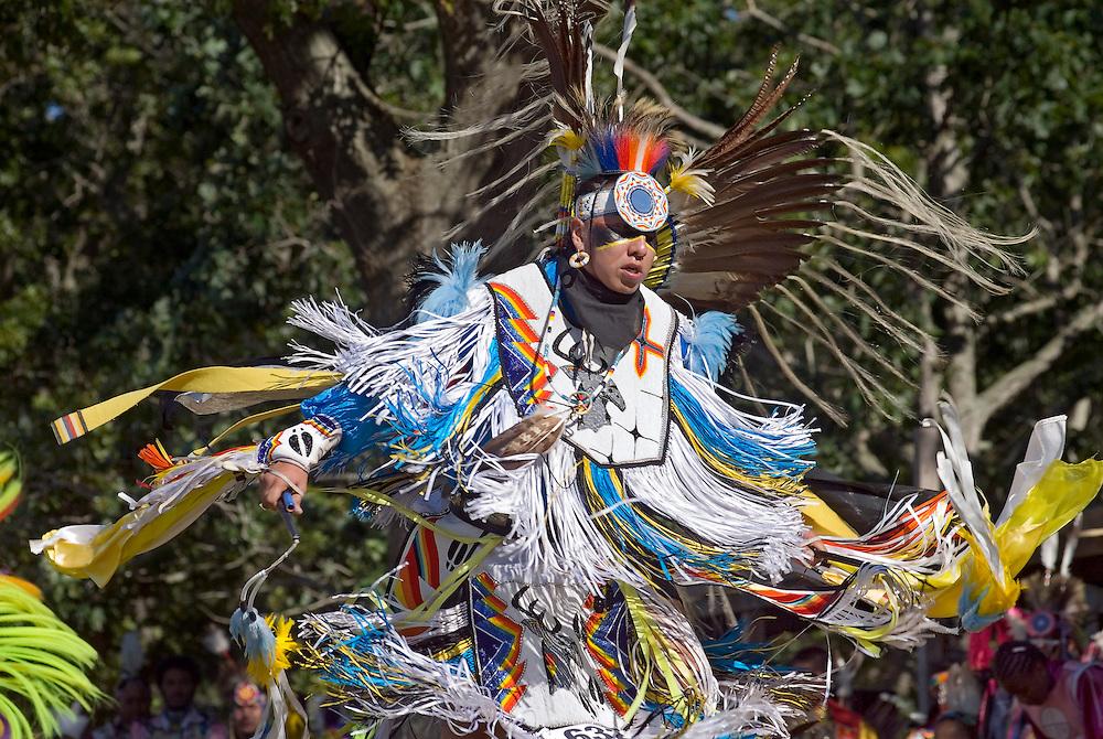 New York, Southampton, Shinnecock Powow, Shinnecock Indian Nation, Indian dancing
