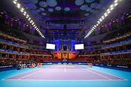 General stadium view inside The Royal Albert Hall before the Champions Tennis match at the Royal Albert Hall, London, United Kingdom on 9 December 2018. Picture by Ian Stephen.