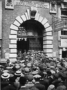 Central London Recruiting depot during World War I 1914