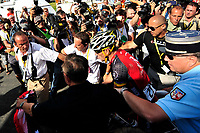 CYCLING - TOUR DE FRANCE 2010 - AVORIAZ (FRA) - 11/07/2010 - PHOTO : VINCENT CURUTCHET / DPPI - <br /> STAGE 8 - STATION DES ROUSSES > MORZINE-AVORIAZ - LANCE ARMSTRONG (USA) / TEAM RADIOSHACK