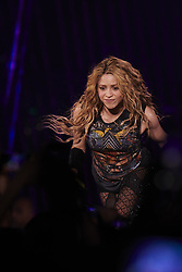 July 3, 2018 - Madrid, Madrid, Spain - Shakira performs live on stage during the 'El Dorado World Tour' at WiZink Center on July 3, 2018 in Madrid. (Credit Image: © Jack Abuin via ZUMA Wire)