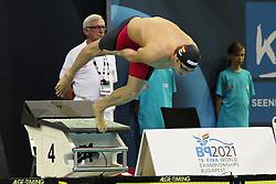 20.08.2014, Europa Sportpark, Berlin, GER, LEN, Schwimm EM 2014, 200m Brust, Männer, Halbfinale, im Bild Marco Koch (Deutschland) (DSV) // during the semifinal of men's 200m breaststroke of the LEN 2014 European Swimming Championships at the Europa Sportpark in Berlin, Germany on 2014/08/20. EXPA Pictures © 2014, PhotoCredit: EXPA/ Eibner-Pressefoto/ Lau<br /> <br /> *****ATTENTION - OUT of GER*****