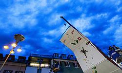 15.08.2016, Hauptplatz, Lienz, AUT, Free Solo Masters, im Bild Feature Michael Braeuer (AUT) // Feature Michael Braeuer (AUT) during the Free Solo Masters at the Hauptplatz in Lienz, Austria on 2016/08/15. EXPA Pictures © 2016, PhotoCredit: EXPA/ JFK