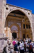 Swan Hellenic tour group visiting Beit Eddine, Beit ed-Dine, Beiteddine Palace of Emir Bashir, Chouf, Lebanon 1998