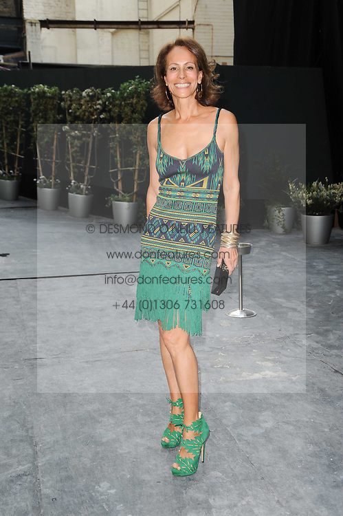 ANDREA DELLAL at a dinner hosted by Harper's Bazaar to celebrate Browns 40th Anniversary in aid of Women International held at The Regent Penthouses & Lofts, 16-18 Marshall Street, London on 20th May 2010.