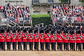 Trooping the Colour Rehearsal and Coronation Gun salute