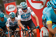 Christopher Froome (GBR - Team Sky) during the 101th Tour of Italy, Giro d'Italia 2018, stage 6, Caltanissetta - Etna 163 km on May 10, 2018 in Italy - Photo Luca Bettini / BettiniPhoto / ProSportsImages / DPPI