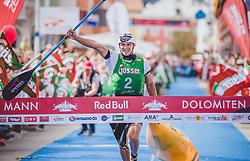 08.09.2018, Lienz, AUT, 31. Red Bull Dolomitenmann 2018, im Bild Sieger, Kubrican Lukas (CZE, Kolland Topsport Professional) // Winner, Kubrican Lukas (CZE, Kolland Topsport Professional) during the 31th Red Bull Dolomitenmann. Lienz, Austria on 2018/09/08, EXPA Pictures © 2018, PhotoCredit: EXPA/ JFK
