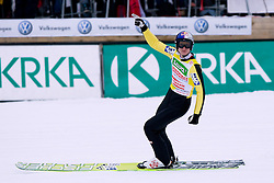 Second place for Thomas MORGENSTERN of Austria during Flying Hill Individual First Round at 2st day of FIS Ski Jumping World Cup Finals Planica 2011, on March 17, 2011, Planica, Slovenia. (Photo By Matic Klansek Velej / Sportida.com)