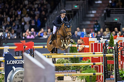 Lindelöw Douglas, SWE, Casquo Blue<br /> Jumping International de Bordeaux 2020<br /> © Hippo Foto - Dirk Caremans<br />  08/02/2020