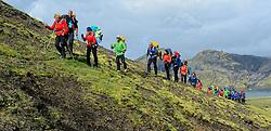 09-07-2014 ISL: Iceland Diabetes Challenge Dag 5, Emstrur<br /> Van Alftavatn naar Emstrurn / Groep