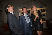 PAUL OWEN; GERRY MCGOVERN; MARTINA BJORN, The Gentle Man, Private view of photographs by Martina Bjorn hosted by Alistair Guy. Brown's Hotel. Albermarle St. London. 11 June 2015.