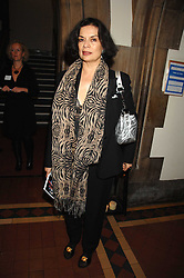 BIANCA JAGGER at the 2nd Fortune Forum Summit and Gala Dinner held at the Royal Courts of Justice, The Strand, London on 30th November 2007.<br /><br />NON EXCLUSIVE - WORLD RIGHTS