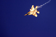 Israeli Air force Fighter jet F15I Airborne