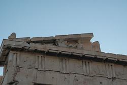 Detail of Parthenon, Acropolic, Athens; Greece