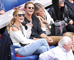 Celebrities attend the 2017 US Open Tennis Championships - Men's Singles finals match between Kevin Anderson of South Africa and Rafael Nadal of Spain - Day 14. 10 Sep 2017 Pictured: Christie Brinkley, Jack Brinkley - Cook, Nina Agdal. Photo credit: MEGA TheMegaAgency.com +1 888 505 6342
