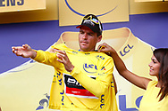 Podium, Greg Van Avermaet (BEL - BMC) Yellow Jersey, during the 105th Tour de France 2018, Stage 8, Dreux - Amiens Metropole (181km) on July 14th, 2018 - Photo Luca Bettini / BettiniPhoto / ProSportsImages / DPPI