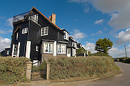 Wooden houses at Thorpness, nr Aldeburgh, Suffolk England
