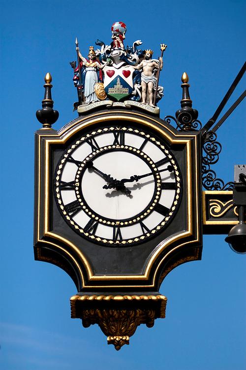 Clock at Royal Exchange, Cornhill, London EC2